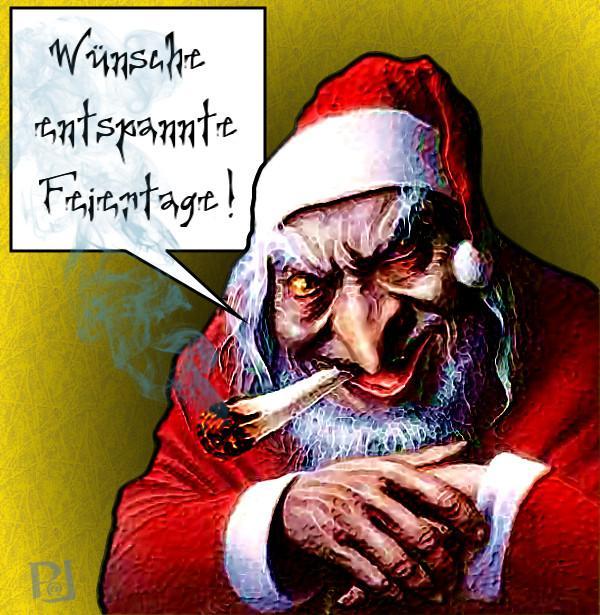 Weihnachtsbilder Nikolaus.Die Mär Vom Lieben Weihnachtsmann Von Pommes Fisch Fleisch