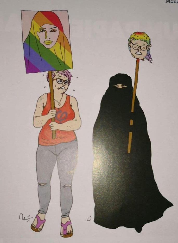 Bildergebnis für aron progressive burka