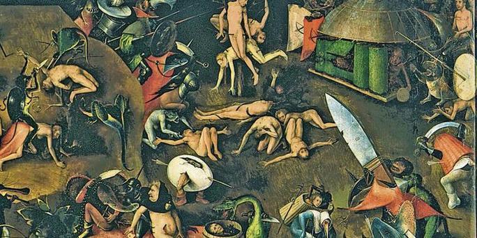 Hölle Mittelalter